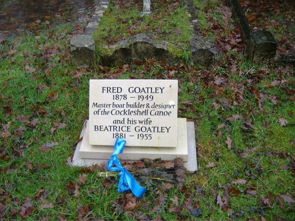 "Fred Goatley ""Cockleshell Canoe"" inventor"